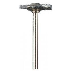 Schijf-draadborstel 19,2mm Ø , staal 1st