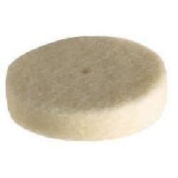 Polyst viltschijf 25,4mm Ø - 3st