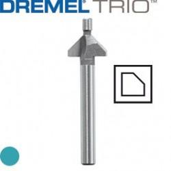 TRIO Afrondfrees V-groef 9,5mm TR618 1st