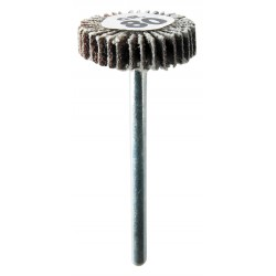Lamellen schuurschijf 20mm Ø x 05mm k80