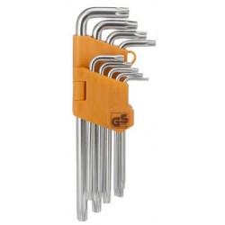 PG Torx sleutel set 9 delig in klem